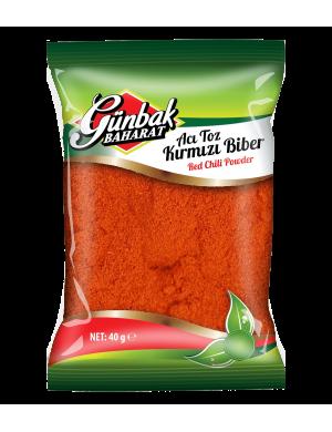 Günbak Acı Kırmızı Toz Biber 1 KG